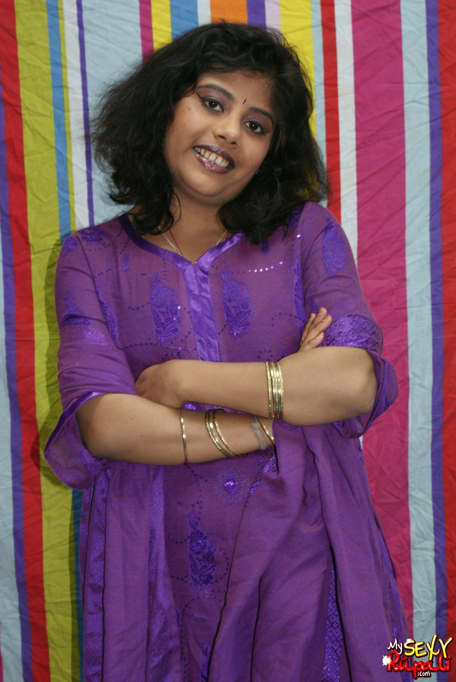 Iab picture gallery 24. Big boobs rupali in purple Indian shalwar suit