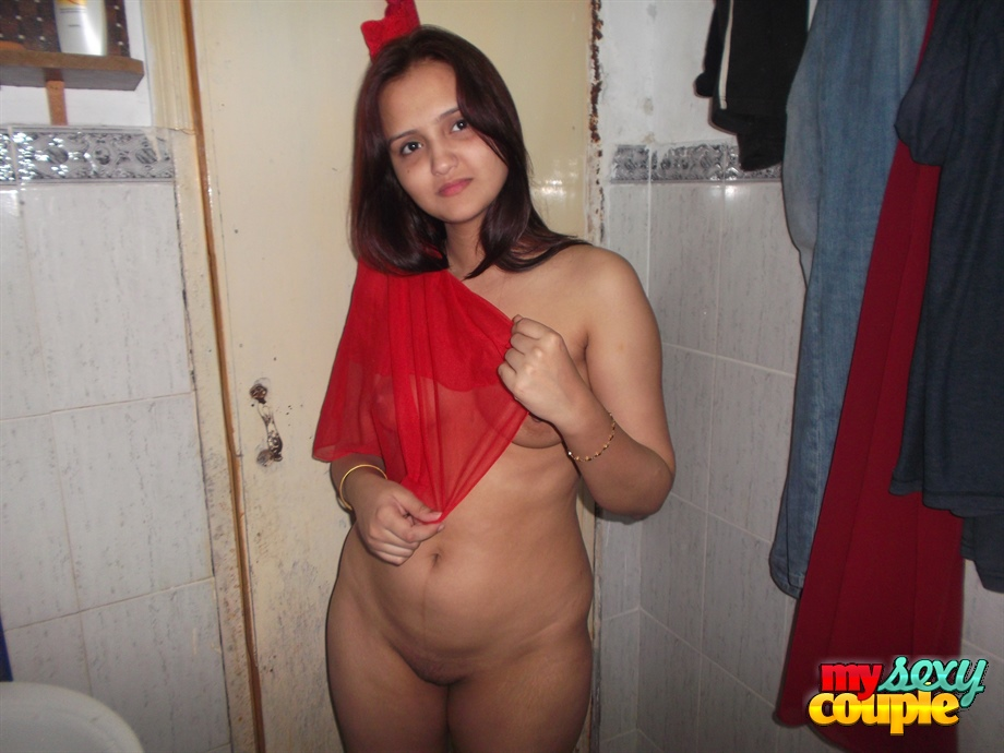Iab picture gallery 39. Hot looking sonia getting ready for wedding party in toilet naked